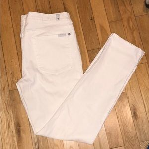 7 for all mankind skinny jeans pants bottoms